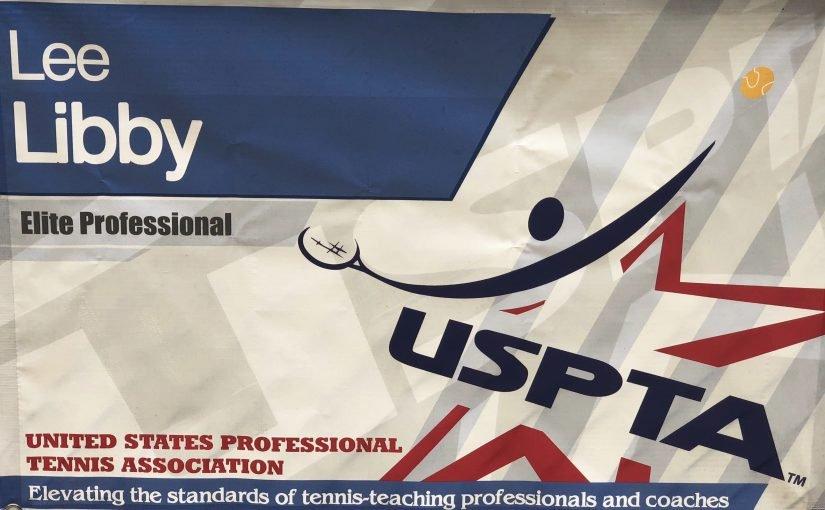 USPTA Tennis Pro Lee Libby is Back!